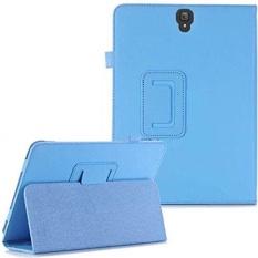 PU Kulit Folio Lipat Auto Tidur/Bangun Case untuk Samsung Galaxy Tab S3 9.7 Inch SM-T820/T825 2017-Intl
