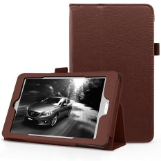 PU Leather Multi-Angle Stand Magnetic Smart Cover Case For Acer Iconia One 8 B1-810 8-Inch(Brown) - intl