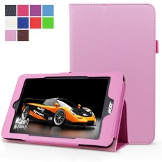 PU Leather Multi-Angle Stand Magnetic Smart Cover Case For Acer Iconia One 8 B1-810 8-Inch(Pink) - intl