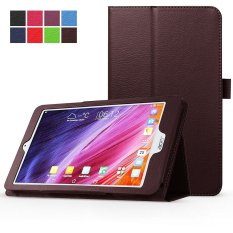 PU Leather Multi-Angle Stand Magnetic Smart Cover Case For Acer Iconia One 8 B1-820 8-Inch (Brown) - intl