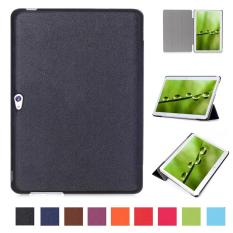 Pu Leather Multi-Folding Stand Case Protective Smart Sleep Cover For Huawei Mediapad M2 A01L / A01M / A01W 10 Inch(Black) - intl