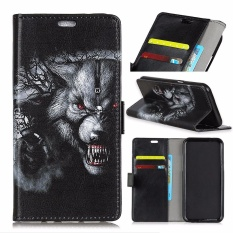 PU Kulit Printing Dompet Case Cover untuk Alcatel One Touch Idol 5 S 5.2 (Multicolor)-Intl