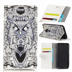 PU Leather Printing Wallet Case Cover for Alcatel One Touch Idol 5S 5.2 (Multicolor) - intl