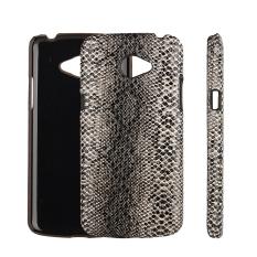 PU Kulit Snap-on Back Case Cover untuk LG K5 (kulit Ular Pola)