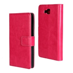 PU Leather Wallet Case Cover for LG Optimus L9 II(Rose) - intl