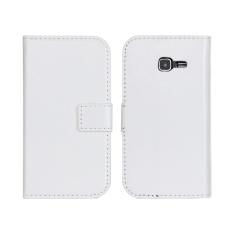PU Dompet Kulit Case Cover untuk Samsung Tren Duo Galaksi II S7572 (Rose)-Intl