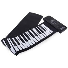 Jual Pu61S Usb Midi Roll Up Piano Kit Dengan 66 Keys 100 240 V Intl Oem Asli