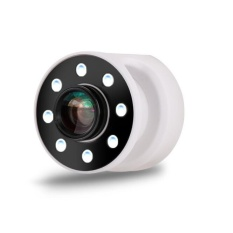 Puding 2 In 1 Ponsel LED Selfie Ring Light Fill Light Suplemen Flash Light dengan 0.67X Wide Angle Lens Rechargeable Selfie Light (Hitam) -Intl