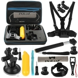 Jual Beli Puluz 16 In 1 Aksesoris Combo Kit Dengan Eva Case Dada Strap Head Strap Suction Cup Mount J Hook Gesper Dapat Diperpanjang Monopod Tripod Adaptor Bobber Hand Grip Tas Penyimpanan Wrench Untuk Gopro Hero4 Sesi 4 3 3 2 1