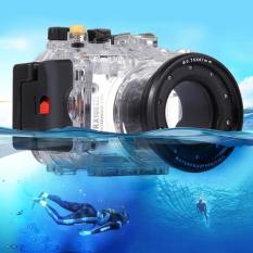 Diskon Puluz 40 M Underwater Kedalaman Menyelam Casing Tahan Air Kamera Perumahan Untuk Sony Rx100 Iii Transparan Intl Hong Kong Sar Tiongkok