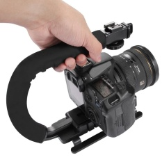 Review Puluz C U Shape Portable Handle Bracket Dv Steadicam Stabilizer Untuk Semua Kamera Slr And Rumah Dv Kamera Di Tiongkok