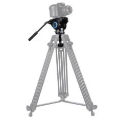 PULUZ PU3503 75mm Metal Half Ball Flat Ke Bowl Adaptor untuk Fluid Head Tripod DSLR Rig Kamera-Intl