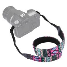 PULUZ Retro Gaya Etnik Multi-warna Seri Bahu Leher Tali Kamera Tali For SLR/kamera DSLR