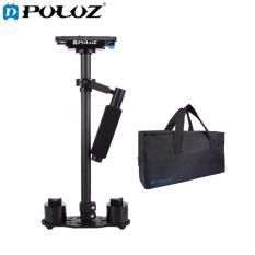 PULUZ 38.5-61cm Carbon Fibre Handheld Stabilizer for DSLR & DV Digital Video & Cameras, Load Range: 0.5-3kg(Black)