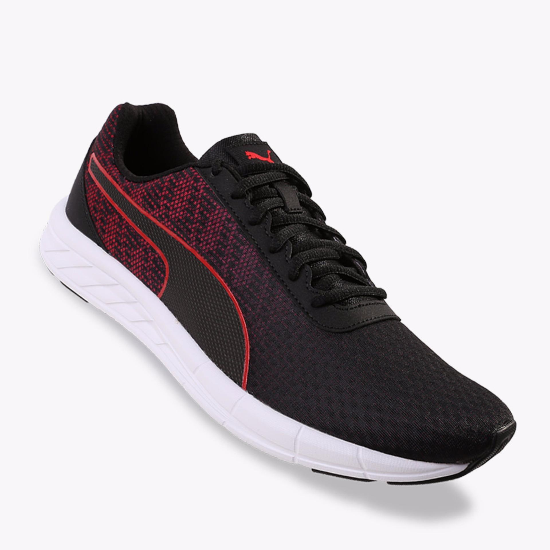 Jual Puma Comet Men S Running Shoes Hitam Merah Termurah