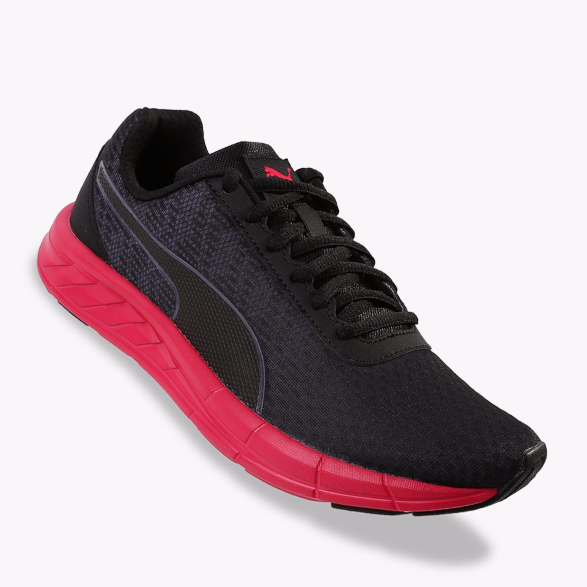 Harga Puma Comet Women S Running Shoes Hitam Merah Original