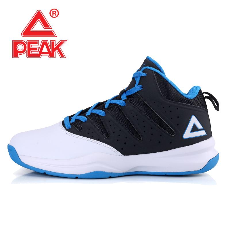 Daftar Harga Puncak Musim Semi Dan Musim Panas Memakai Non Slip Sepatu Boots Sepatu Bola Basket Besar Putih Hitam Peak