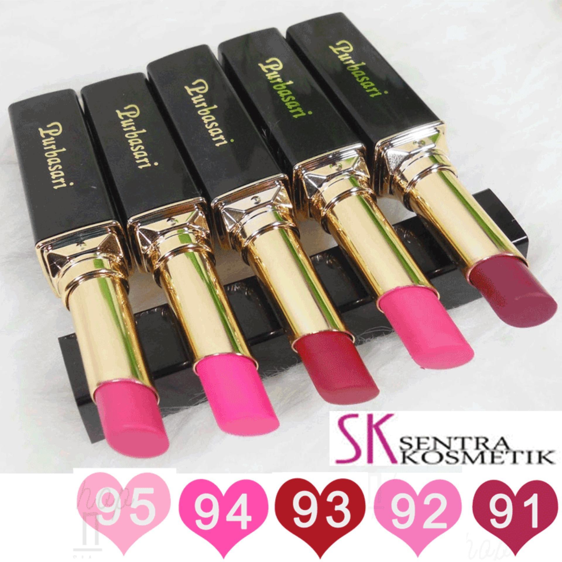 Purbasari Lipstick Matte Warna Special - 5 pcs