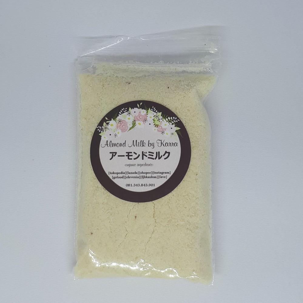 Pure Organic Almond Milk Minisize Powder Bubuk Susu Sekali Minum