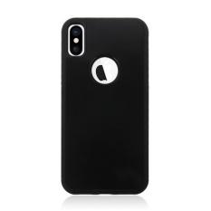 Puriss 5 Warna dengan Lubang Anti Gravitasi TPU + Telepon Genggam PC Cover Case untuk Apple iPhone X Cover Case-Intl