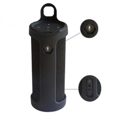 Pushingbest Membawa Case untuk Keran Pembicara Silikon Tahan Lama Tambahan Carabiner Ditawarkan untuk Mudah Dibawa (