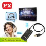 Beli Px Bluetooth Transmitter And Splitter Btx 1000 Yang Bagus