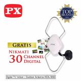 Px Digital Tv In Outdoor Antenna Hda 5600 Putih Px Diskon