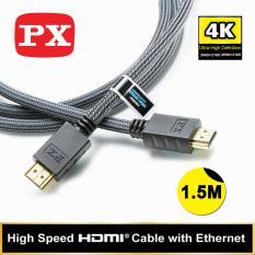 Spesifikasi Px High Speed Hdmi Cable With Ethernet Hdmi 1 5Mx Lengkap Dengan Harga
