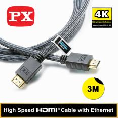 Spesifikasi Px High Speed Hdmi Cable With Ethernet Hdmi 3Mx Yg Baik