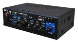 Harga Pyle Home Ptau45 Mini 2X120 Watt Max Stereo Power Amplifier Dengan Usb Cd Aux Input Intl Branded