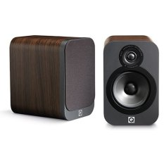 Beli Q Acoustics 3020 Bookshelf Standmount Speaker Walnut Q Acoustics Online