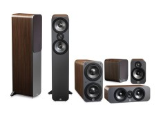 Model Q Acoustics 3050 Cinema Home Theater Speaker 5 1Ch Walnut Terbaru
