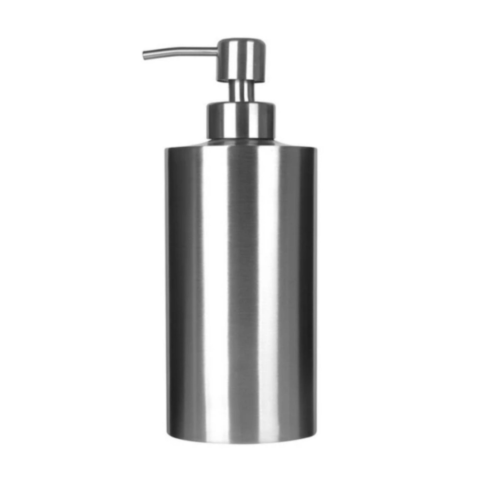 Spesifikasi Q Shop 350 Ml Sabun Dispenser Countertop Busa Busa Pompa Stainless Steel Lotion Botol Intl Online