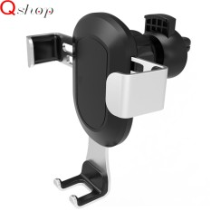 Q-shop Universal Car Phone Holder,High Quality Air Vent Car Mount,One-Handed Performance Compatible for iphone 7/7plus 6/ 6s/Samsung/Galaxy/S7/S6/ & Other Smartphone - intl