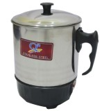 Iklan Q2 8011 Electric Heating Cup 11 Cm Silver