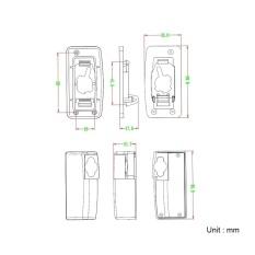 QANLIIY 040 1000X Dapat Diperpanjang Mini Pocket BK4 Monoculars-Intl
