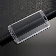 QC Tempered Glass Full Samsung Galaxy S6 Edge Plus Anti Gores Kaca / Screen Protection / Screen Guard/ Temper - Clear