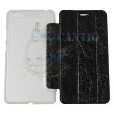 QCF Flip Case Lenovo PHAB Plus PB1-770N / Leather PHAB Plus PB1 770N / Case Hp / Flip Cover PB1-770N - Hitam