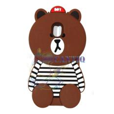 QCF Silicone Case 3D Samsung Galaxy J5 Pro Soft Back Case Baby Bear With  Baju Belang Hitam Putih   Case Boneka Unik   Casing Samsung J5 Pro – Boy  Bear Brown 85742fb364