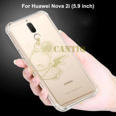 QCF Soft Case Anti Shock Anti Crack Huawei Nova 2i / Silikon Casing Huawei Nova 2i / jelly Anti Carck Case Huawei - Bening