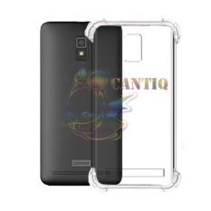 QCF Soft Case Anti Shock Anti Crack Lenovo A6600 / Silikon Casing Lenovo A6600 / jelly Case Hp - Bening