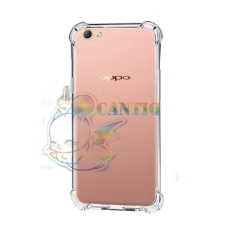QCF Soft Case Anti Shock Anti Crack Oppo A57 / Silikon Casing Oppo A57 jelly Case Hp - Bening