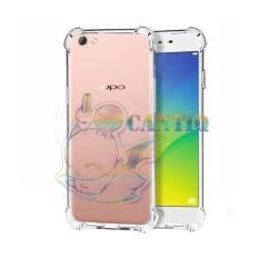 QCF Soft Case Anti Shock Anti Crack Oppo A71 / Silikon Casing Oppo A71 / jelly Anti Carck Case - Bening