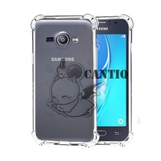QCF Soft Case Anti Shock Anti Crack Samsung Galaxy J1 Ace / Silikon Casing Samsung J1 Ace/ jelly Case Hp - Bening
