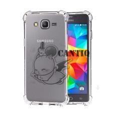 QCF Soft Case Anti Shock Anti Crack Samsung Galaxy  j2 Prime / Silikon Casing Samsung j2 Prime / jelly Case Hp - Bening