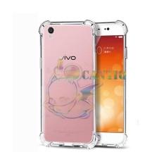 QCF Soft Case Anti Shock Anti Crack Vivo Y51 / Silikon Casing Vivo Y51 / jelly Case Hp - Bening