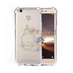 QCF Soft Case Anti Shock Anti Crack Xiaomi Redmi 3s / Silikon Casing Xiaomi Redmi 3s / jelly Case Hp - Bening
