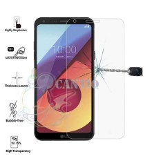 QCF Tempered Glass LG Q6 Ukuran 5.5 inch / Anti Gores Kaca  LG Q6 / Temper Glass  LGQ6 / Screen Protector  LG Q6 / Pelindung Layar - Clear