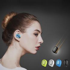 Beli Qcy Q26 Wireless Mini Di Telinga Headphone Stereo Headset Bluetooth Smart Mikrofon Putih International