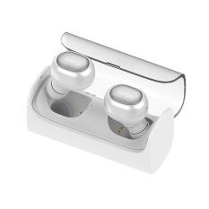QCY Q29 Inggris Bisnis Bluetooth earphone Nirkabel 3D Stereo headphone Putih-Intl